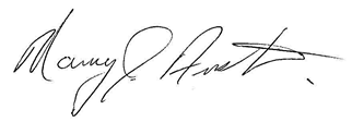 Signature of Nancy Austin