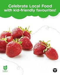 Strawberry smoothie recipe.