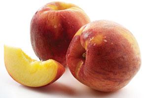 Peaches and Cream Mini Pavlovas