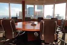 Round table boardroom