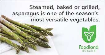 Steamed, baked or grilled, asparagus is one of the season's most versatile vegetables.
