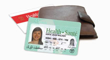 Converting your red and white health card to a photo health card