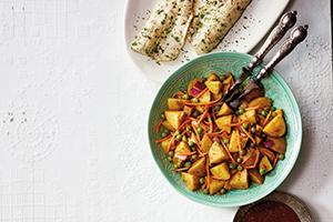Samosa-Style Potato Salad