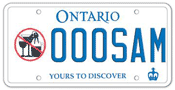 Illustration of Licence Plate - Association of Canadian Distillers