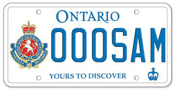 Illustration of Licence Plate - Governor General's Horse Guards Association