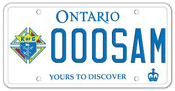 Illustration of Licence Plate - Knights of Columbus
