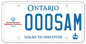 Illustration of Licence Plate - Special Olympics