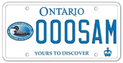 Illustration of Licence Plate - Ontario Federation of Anglers and Hunters