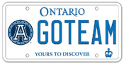 Illustration of Licence Plate - Toronto Argonauts