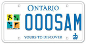 Illustration of Licence Plate - Geocaching