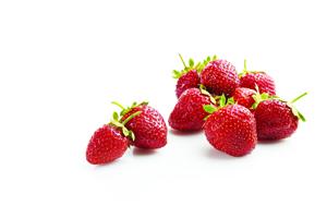 Roasted Strawberry Rhubarb Waffle Bowl