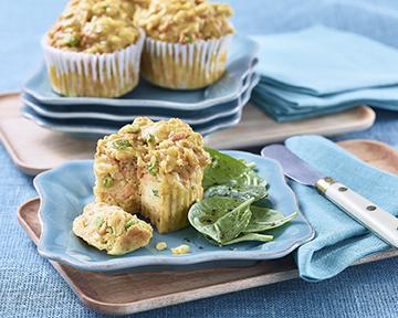 Muffins à la patate douce et à la ricotta