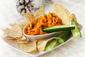Southwest Sweet Potato Dip