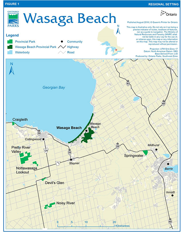 Wasaga Beach Provincial Park Beach Management Secondary Plan